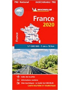 Carte Routière France n°792...